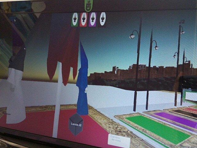 Trivial cofrade tres dimensiones 3D colegio San Jose Málaga Loyola educación