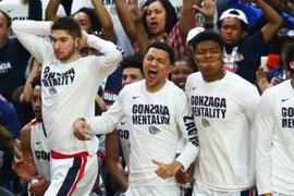 Carolina del Norte y Gonzaga disputarán la final universitaria estadounidense