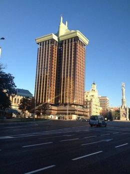 Torres de Colón en Madrid.