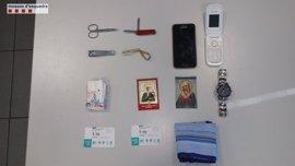 Detenidos 'in fraganti' tres ladrones de pisos en Granollers (Barcelona)