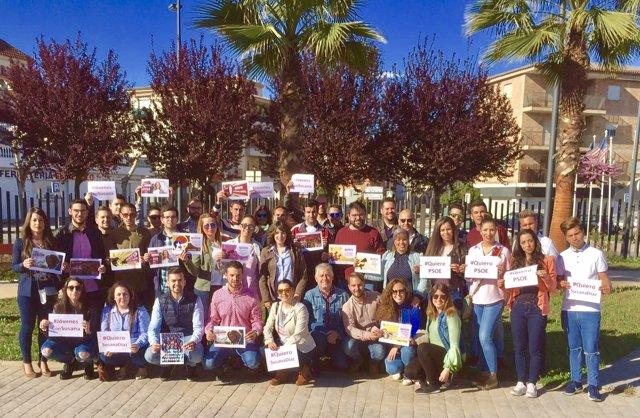 Grupo de apoyo de jóvenes granadinos a la candidatura de Susana Díaz