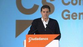 """Rivera: """"Somos el partido mejor situado para ofrecer un proyecto común a todos los españoles"""""""