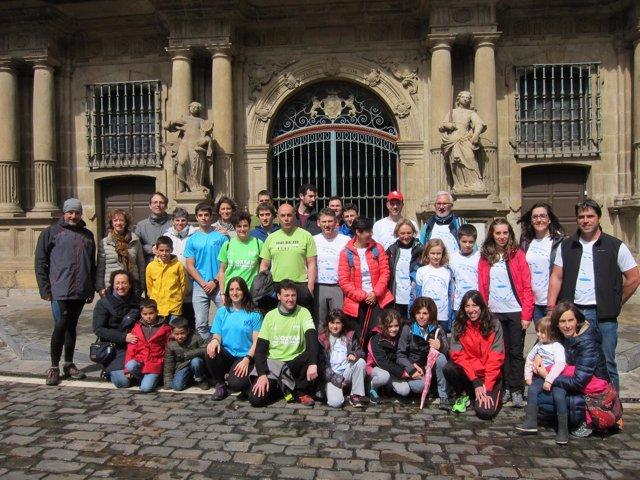Participantes navarros en la VII Oxfam Intermón Trailwalker