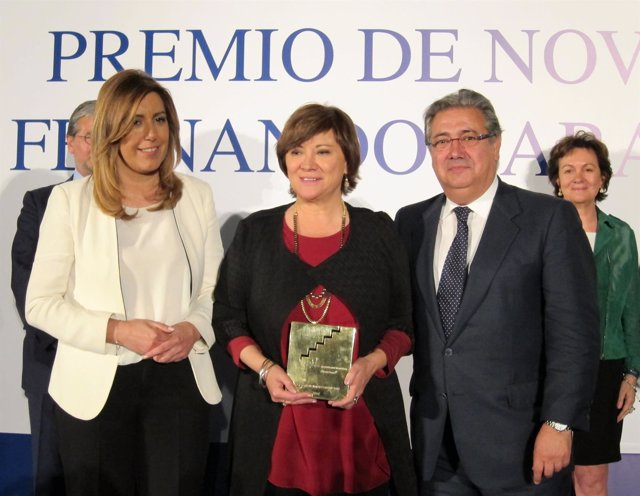 Nativel Preciado, junto a Díaz y Zoido