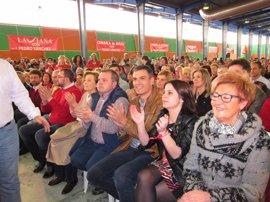 """Pedro Sánchez: """"No habrá dique que pare el cambio en las fuerzas socialistas"""""""