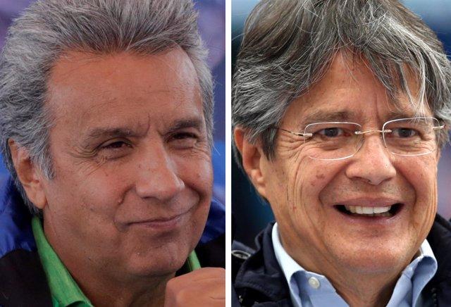 Lenín Moreno, Guillermo Lasso