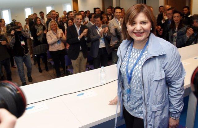 La 'popular' fue reelegida líder este pasado sábado