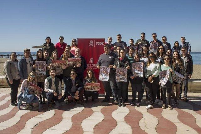 Grupo de apoyo a la candidatura de Susana Díaz en Almería