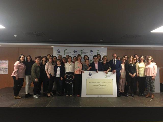 Encuentro en Jaén de trabajadoras del Servicio de Ayuda a Domicilio de Clece