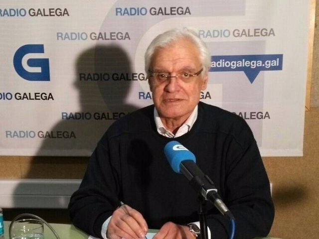 El presidente de la RAG, Víctor Freixanes