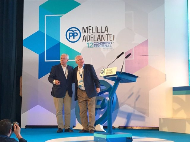 Javier Arenas en Melilla