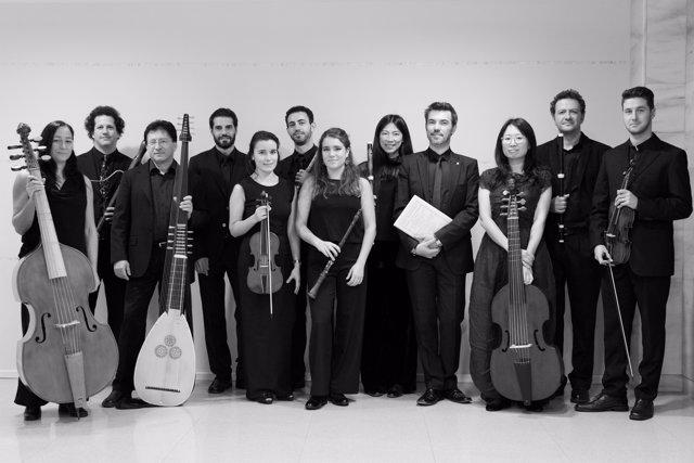 Miembros de la Academia de Música Antigua de cantabria