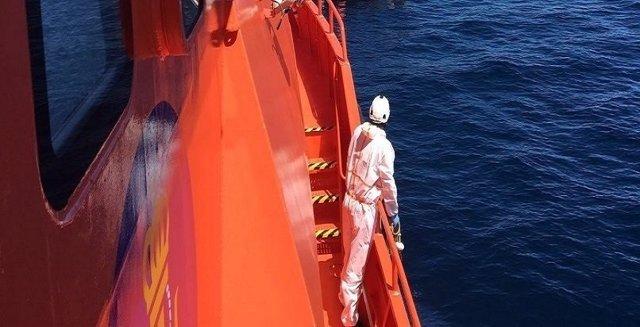 Actuación de Salvamento Marítimo