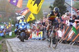 Gilbert se exhibe en el Tour de Flandes