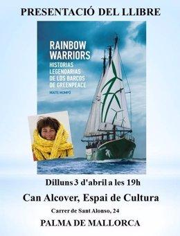 Cartel presentación libro Maite Mompó