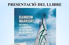 Maite Mompó presenta su libro sobre las experiencias vividas en barcos de Greenpeace este lunes