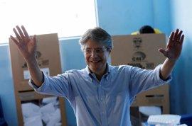 """Lasso reivindica estas elecciones como """"el segundo grito de indpendecia"""" de Ecuador"""