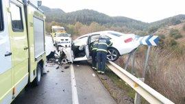 Cinco muertos en accidentes de tráfico en Andalucía en el fin de semana