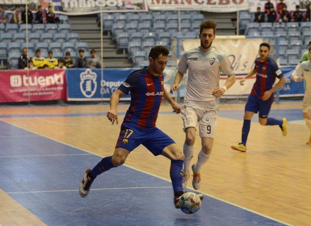 El FC Barcelona Lassa, nuevo líder de la Primera División de fútbol sala
