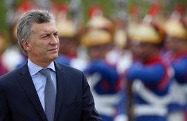 """Macri aboga por el diálogo para lograr que el """"reclamo"""" argentino en Malvinas """"tenga cabida"""""""