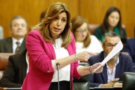 """Susana Díaz: A la oposición en Andalucía ya sólo le falta el """"váyase señora Díaz"""""""