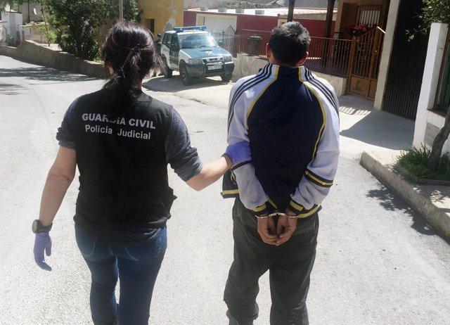 Guardia Civil detiene al presunto homicida de un vecino de Puerto Lumbreras
