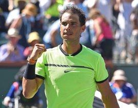 Nadal asciende al quinto puesto de la ATP