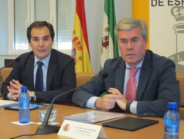 José Antonio Nieto y José Enrique Fernández de Moya