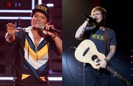 Semana grande del pop mundial en España: llegan las giras de Bruno Mars y Ed Sheeran