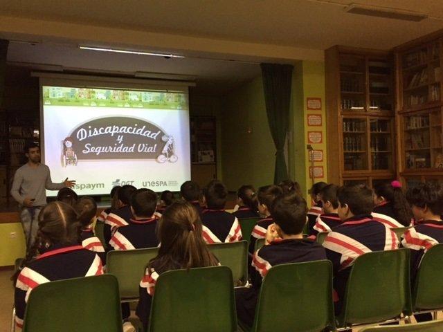 Jornada de Aspaym en Valladolid
