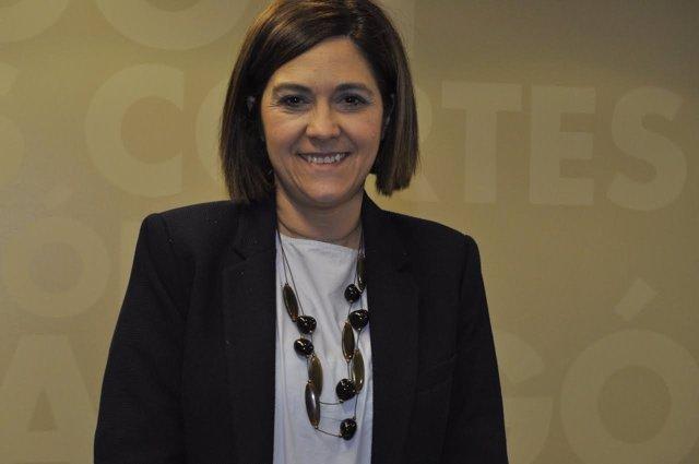 La portavoz del Grupo Parlamentario de Cs de las Cortes de Aragón, Susana Gaspar