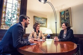 Montserrat, Comín y Colau se reúnen para impulsar la Agencia Europea del Medicamento