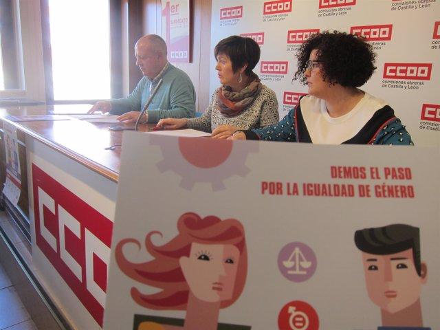 Valladolid.- CCOO presenta su estrategia por la igualdad de género