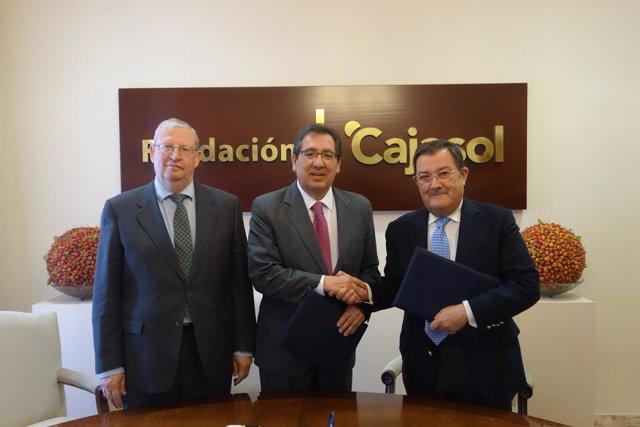 Acuerdo entre Fundación Cajasol y Consejo de Hermandades