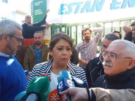 Acampada ante la Junta en Huelva contra la ejecución del Plan de la Corona Norte de Doñana