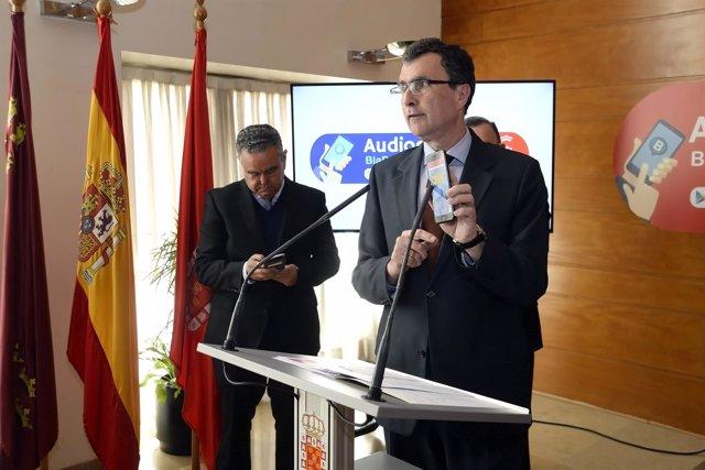 El alcalde presenta la aplicación Blabup en directo