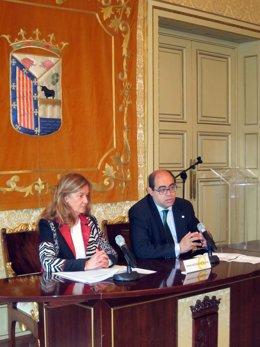 Fernando Rodríguez y Carmen Sánchez Bellota.