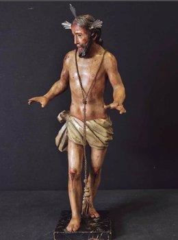 Imagen del Santo Cristo del Despojo.