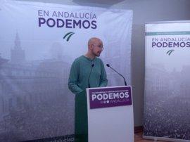"""Podemos Andalucía cree que los PGE """"no sorprenden a nadie"""" y acentúan la """"brecha social"""""""