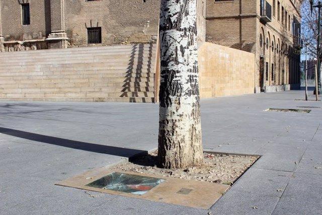Memorial a las víctimas de ETA vandalizado