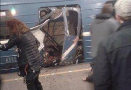 Explosión en el metro de San Petersburgo | Directo: El atentado habría sido obra de un suicida con vínculos islamistas