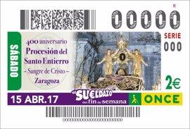 El 400 aniversario de la Procesión del Santo Entierro, en el cupón de la ONCE