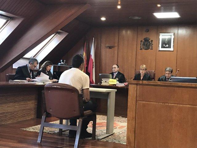 Juicio por lesiones en la Audiencia de Cantabria