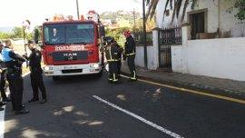 Fallece una mujer en el incendio de una casa abandonada en La Laguna