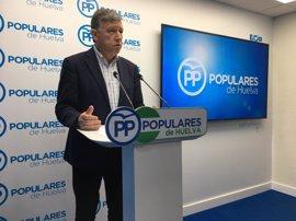 El PP de Huelva llevará al Congreso y al Senado una PNL para que se agilice el trasvase del Condado
