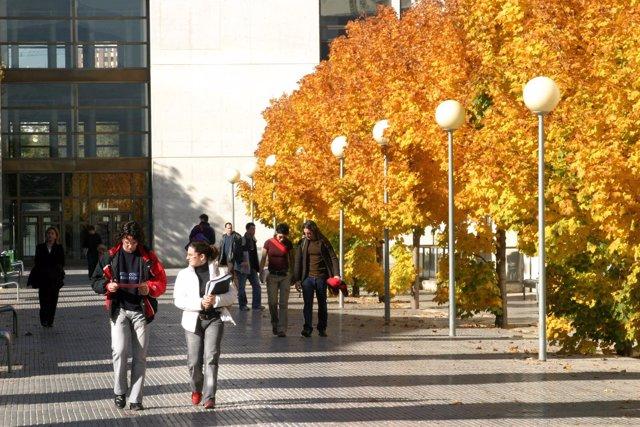 Campus de la UPNA en Pamplona