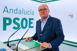 PSOE-A reclama que se incluyan los más de 2.200 millones de deuda con Andalucía por inversiones