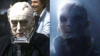 Star Wars: Los últimos Jedi ¿Es el Líder Supremo Snoke el gemelo maligno de Anakin Skywalker?