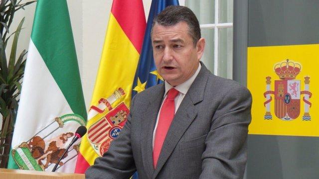Antonio Sanz, hoy ante los medios