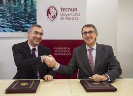 Cinfa y la UN firman un convenio para reforzar la formación de los estudiantes de ingeniería